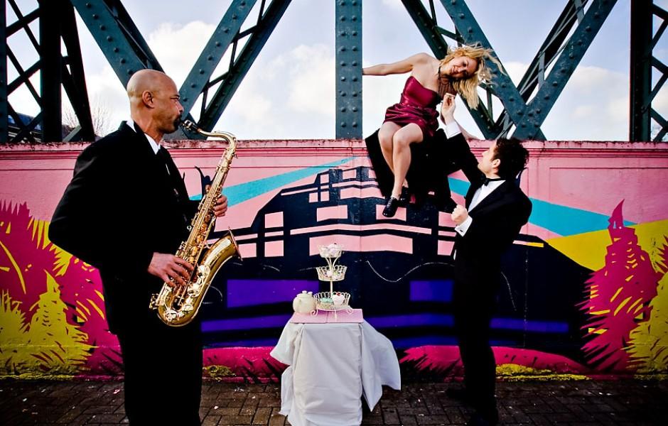 Photoshoot: Alex and her Jazz Tryo