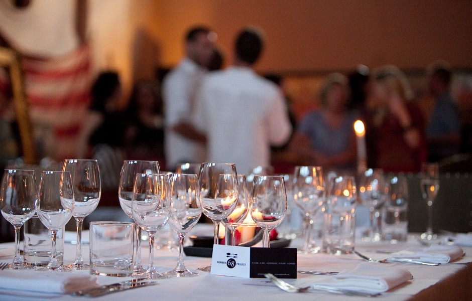Event: Number 68 Project -Pop-up Restaurant