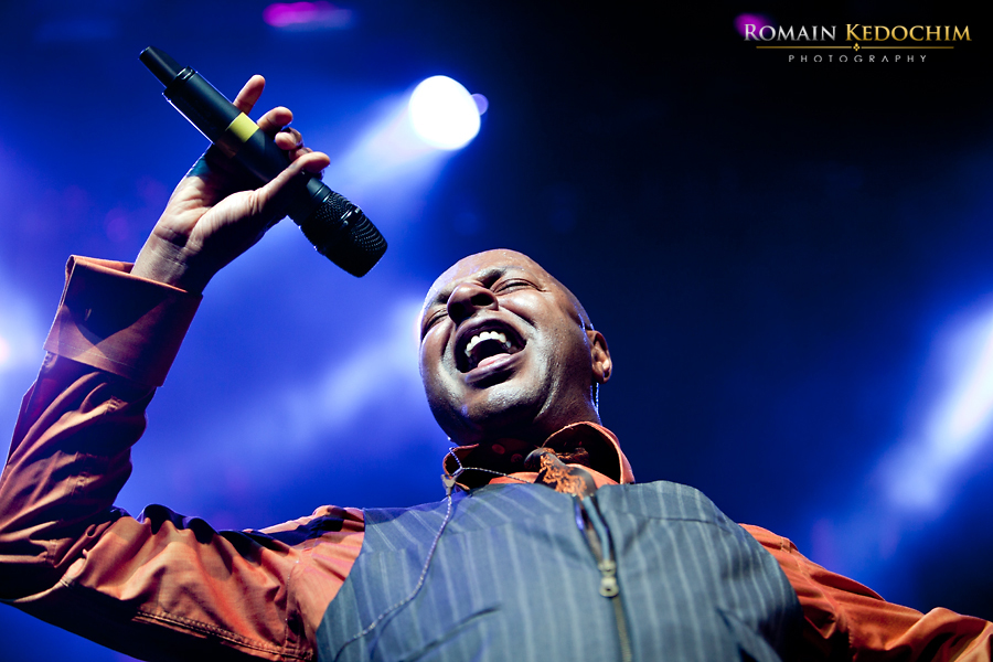 Leee John for BritFunk at Indigo O2 London