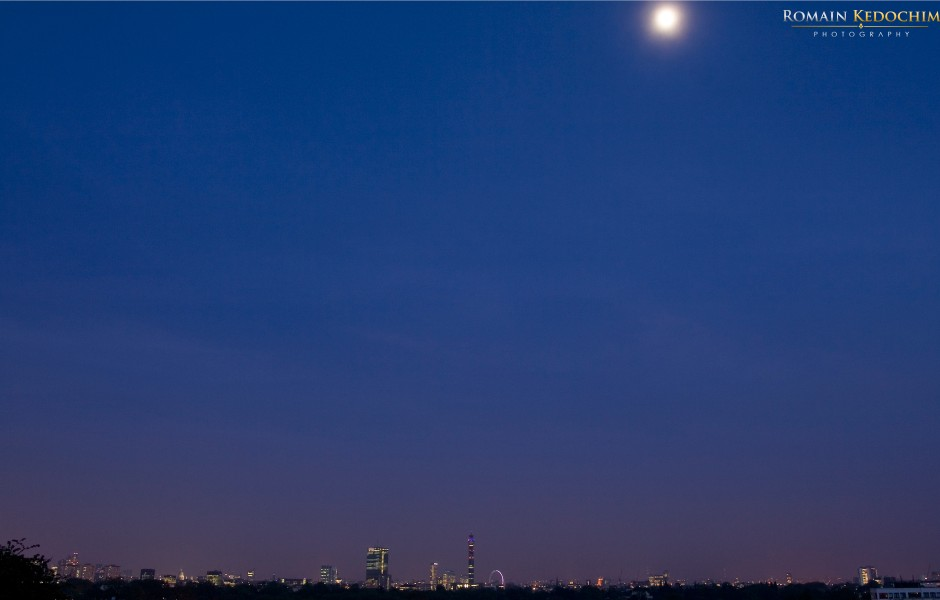 Friday Wallpaper: View Of London from Primrose Hill