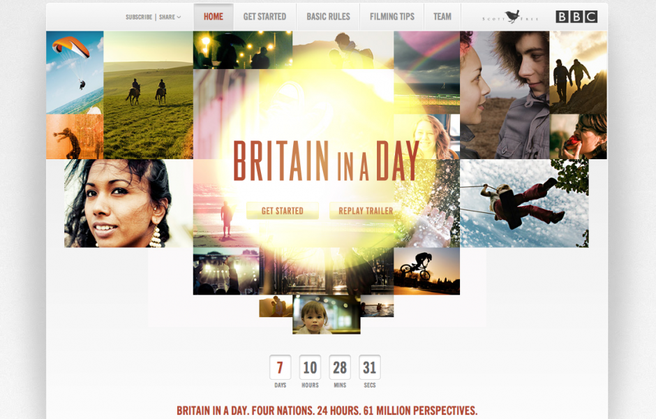 News: Britain In A Day – 12th November 2011