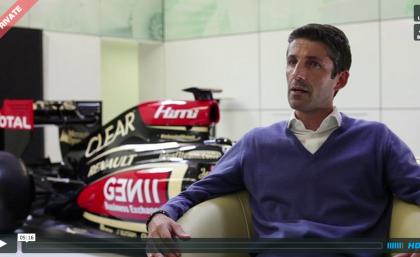 Stephane Samson on the Lotus F1/Daft Punk Collaboration